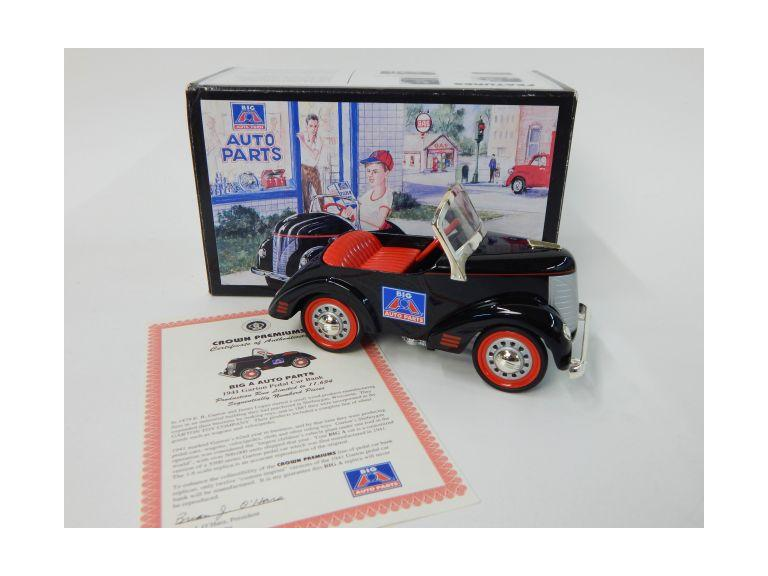 Big A Auto Parts Die-Cast Pedal Car Bank