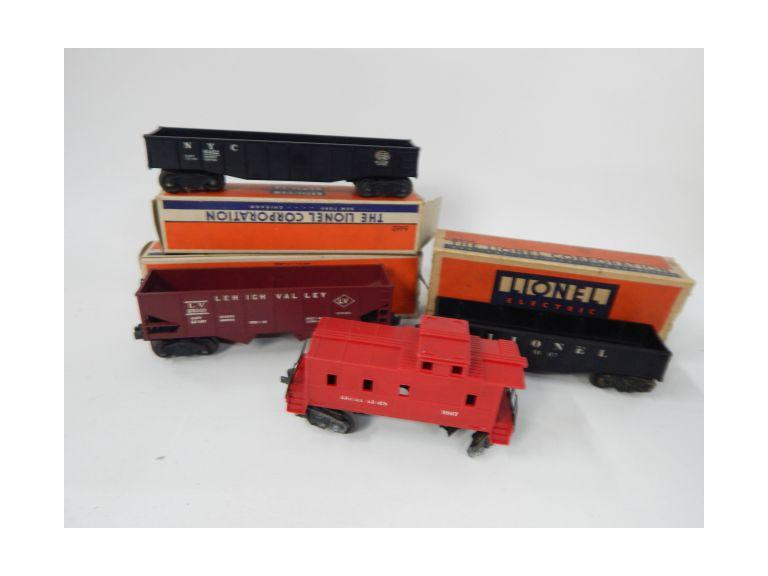 Collection of Vintage Lionel Train Cars