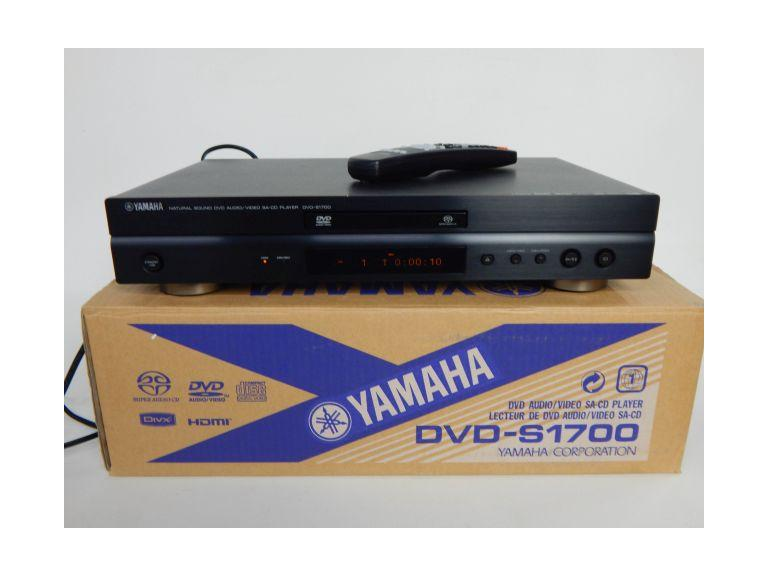 Yamaha Natural Sound DVD Player