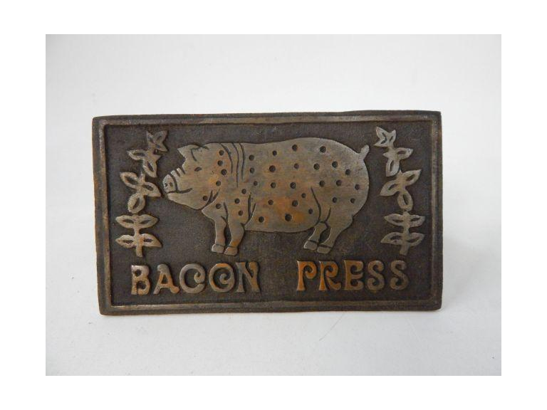 Cast Iron Bacon Press