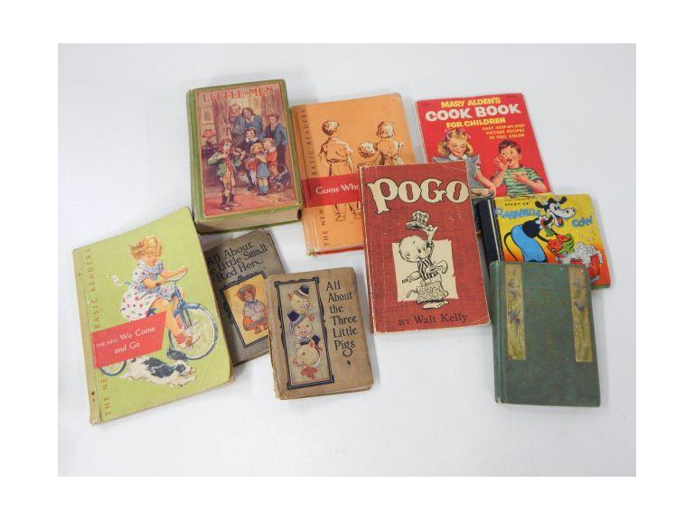 Collection of Vintage and Antique Children's Books
