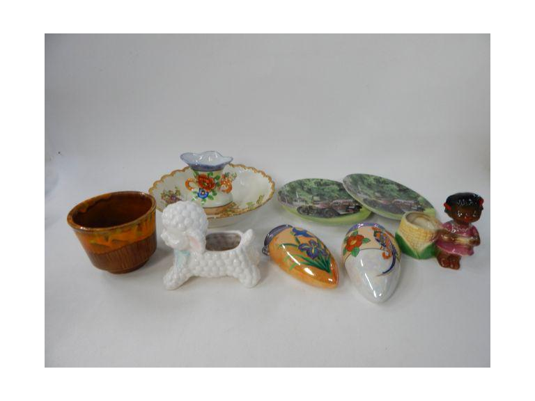 Collection of Porcelain and Pottery Pieces