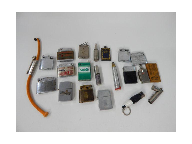 Collection of vintage Flint Lighters
