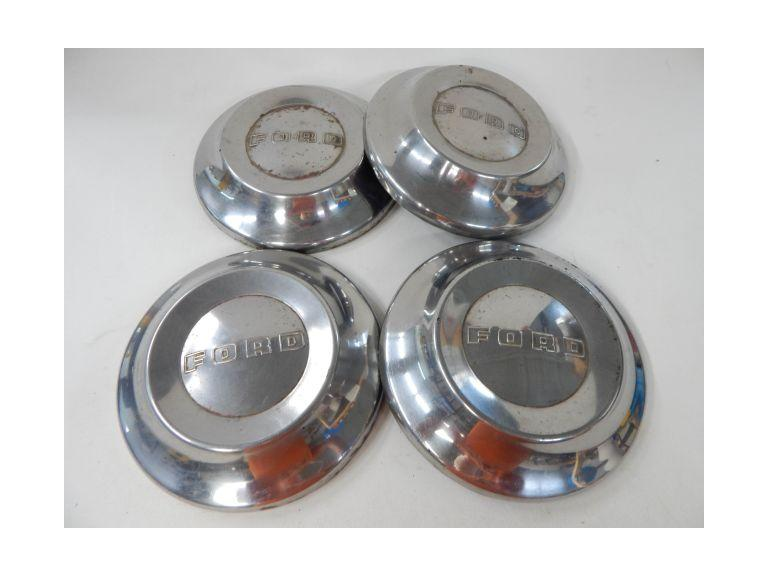 Set of Old Ford Hubcaps