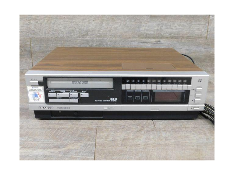 Sanyo VCR 4500 Betacord Player