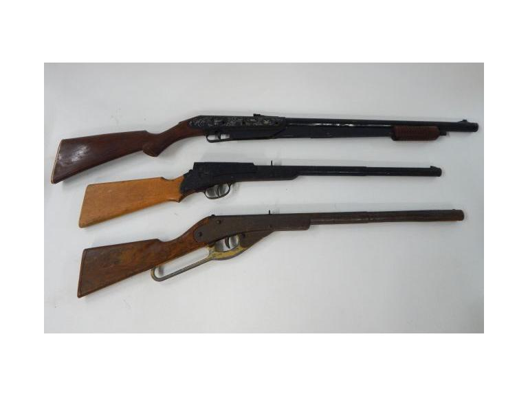 Collection of Vintage BB Rifles