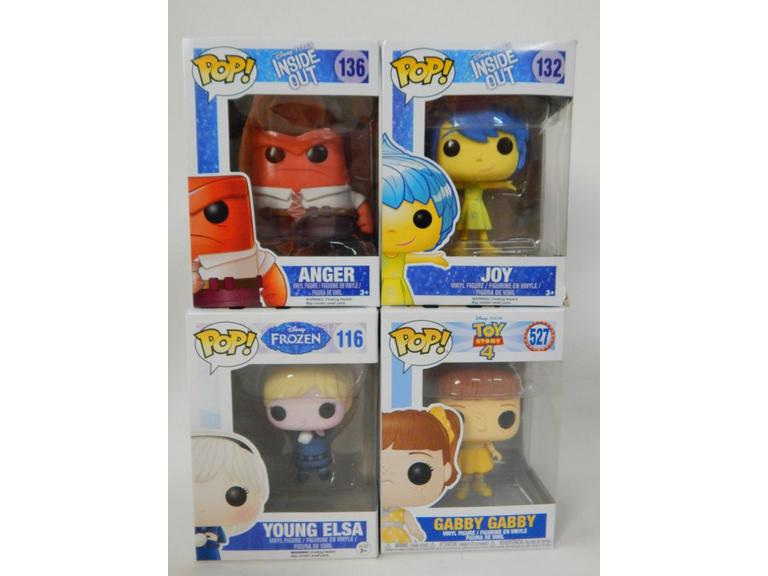 Funko Pop! Disney Cartoon Figures