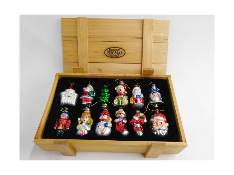 "Thomas Pacconi ""Museum Series"" Crate of Ornaments"