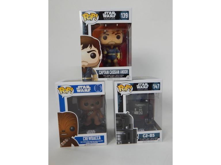 Star Wars Funko Pop! Figurines in the Box