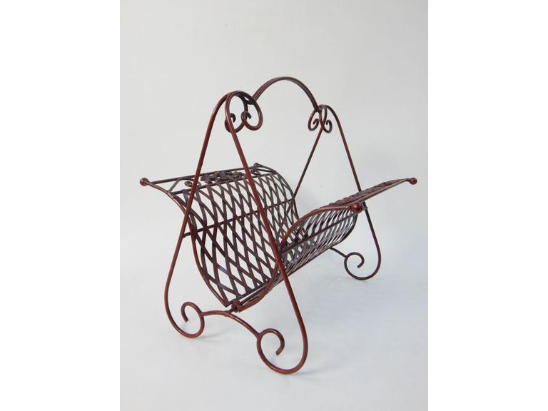 Decorative Metal Carrier/Rack