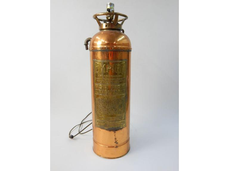 Empire Copper Fire Extinguisher