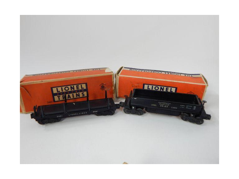 Lionel Automatic Lumber & Dumping Ore Cars