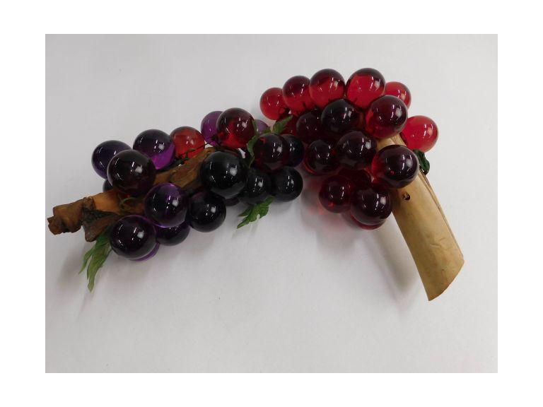 Vintage Glass Grapes