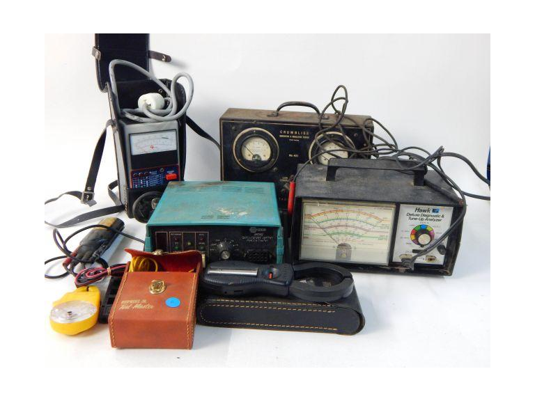 Collection of Electrical Testing Equipment