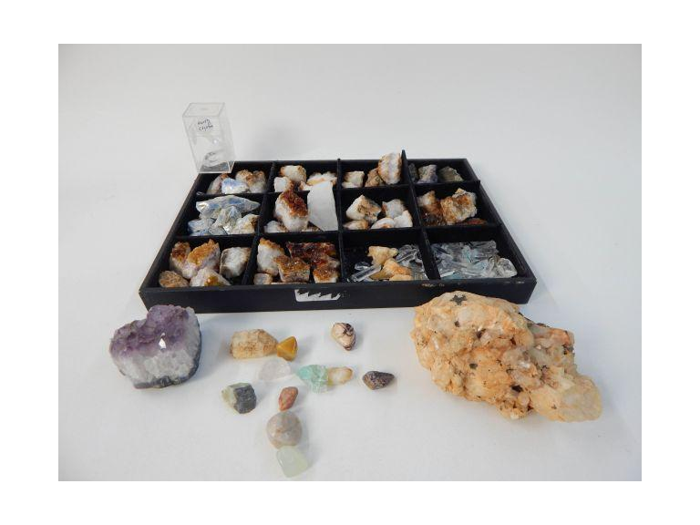Collection of Mineral Rocks