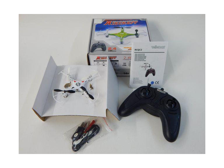 Remote Control Mini Quad Copter
