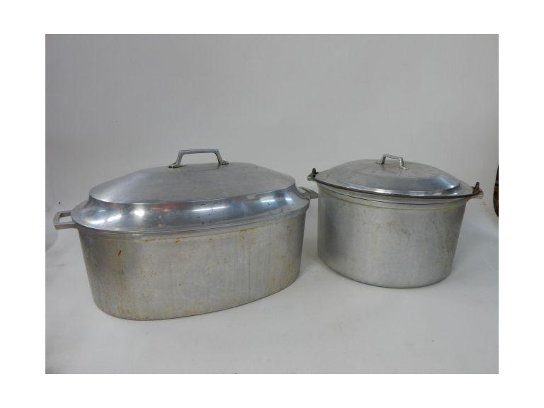 Pair of Miracle Ware Aluminum Pots