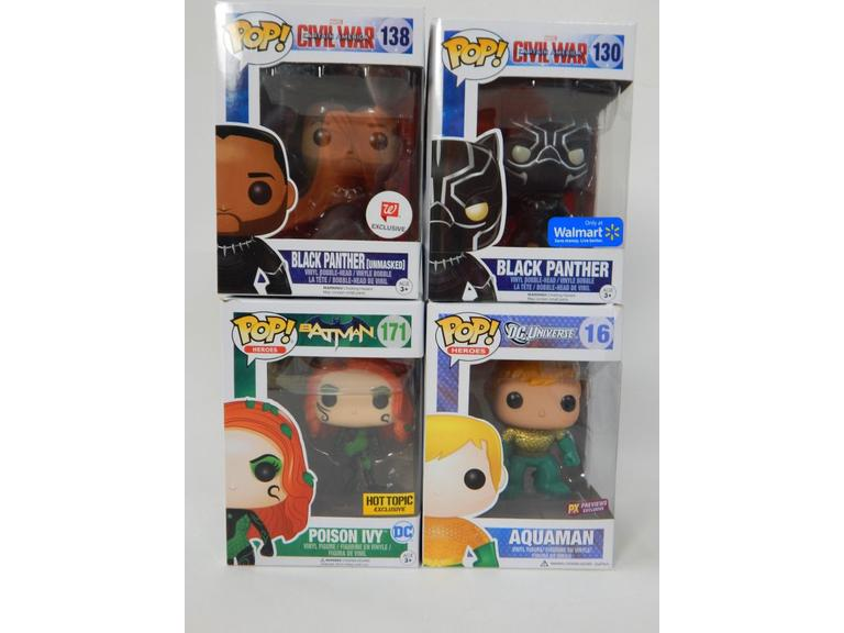 Funko Pop! Super Hero Figures
