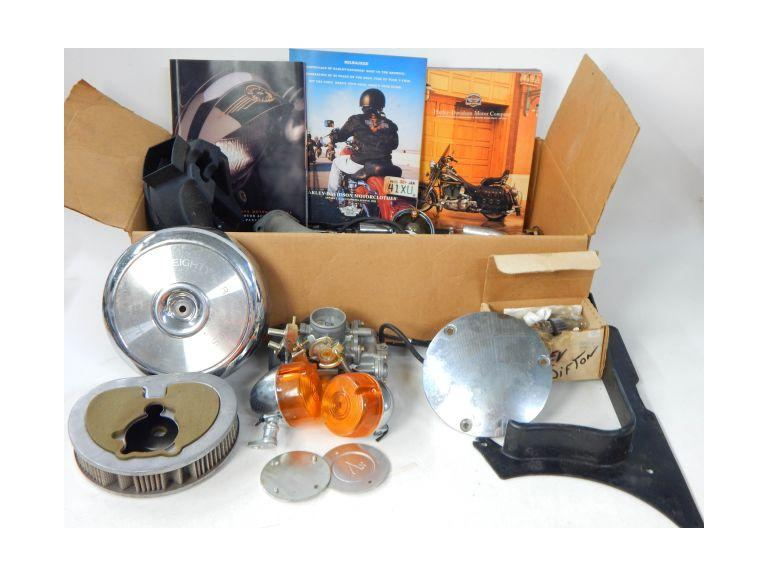 Collection of Harley Davidson Parts and Brochures