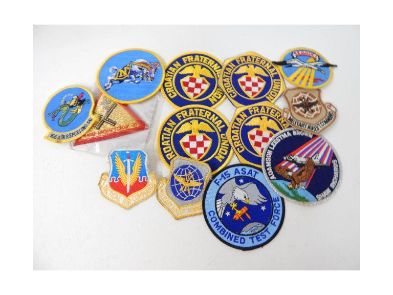 Collection of Patches with Military