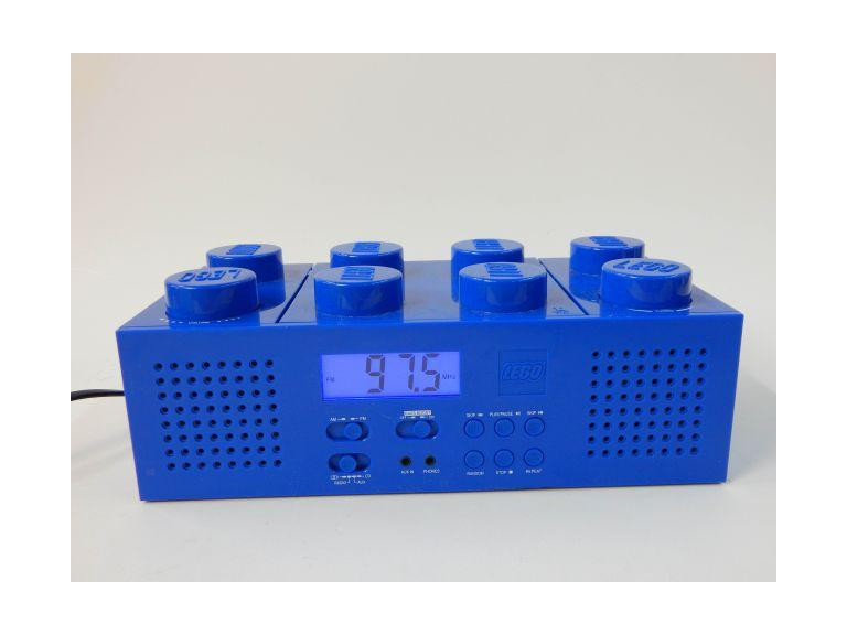 Portable Lego AM/FM CD Radio