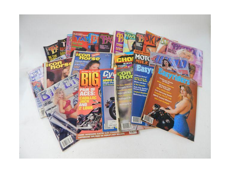Collection of Tattoo & Biker Magazines