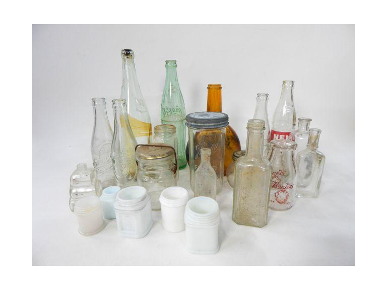Vintage and Antique Jars & Bottles