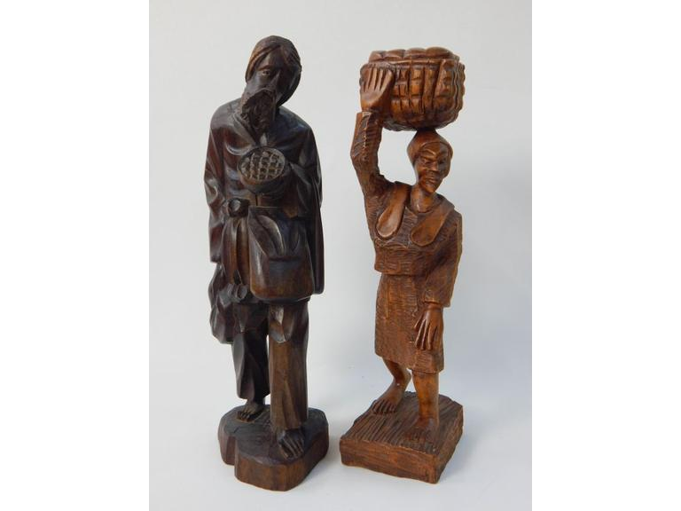Hand Carved Wooden Statues