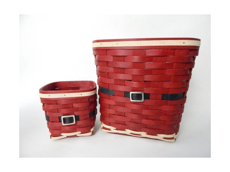 Longaberger Santa Claus Baskets