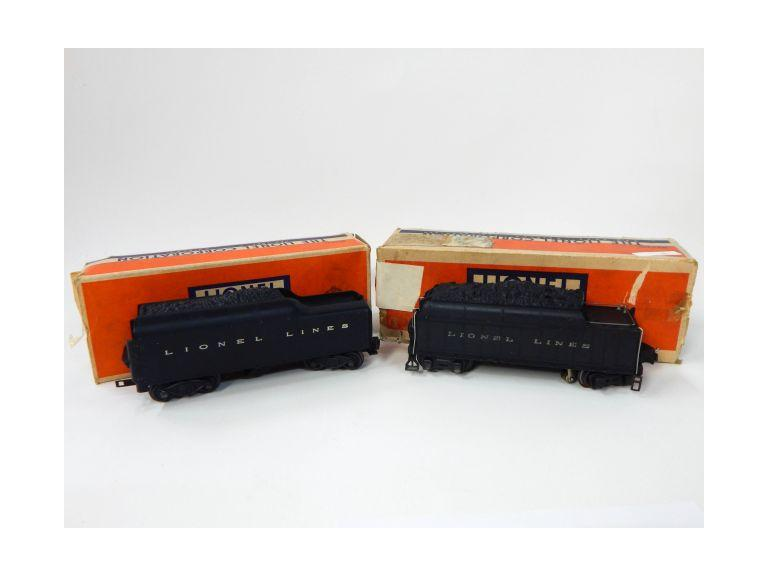 Lionel Standard Gauge Tenders with Whistles