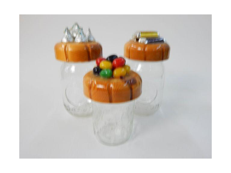 Collection of Decorative Candy Jars
