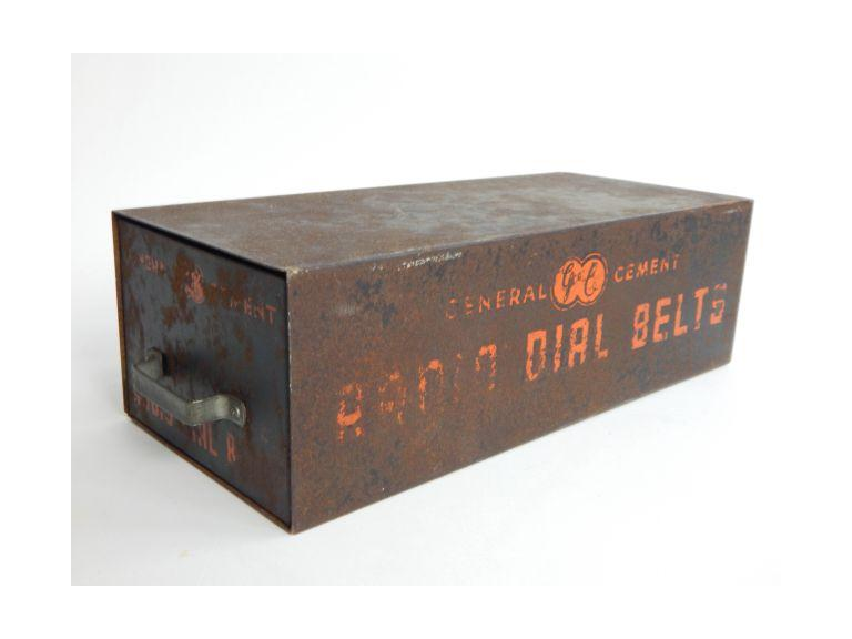 Vintage GE Radio Dial Belts with Case