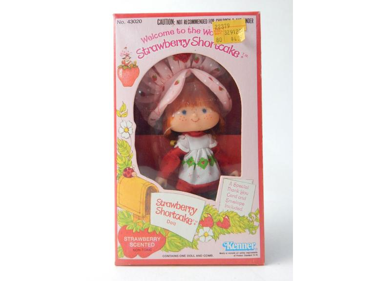Original 1980 Strawberry Shortcake Doll in the box