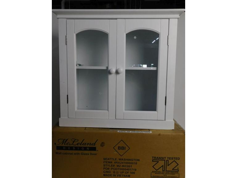 Wall Cabinet with Glass Door