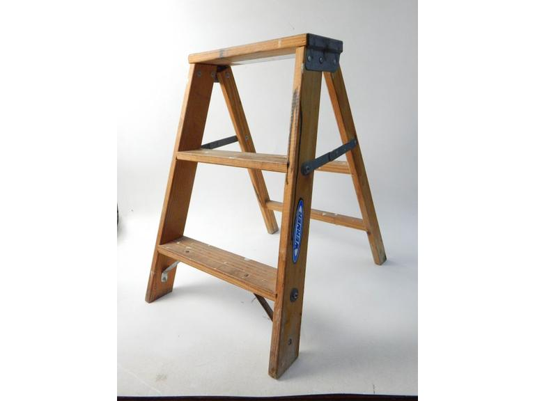 Werner Wooden Step Stool