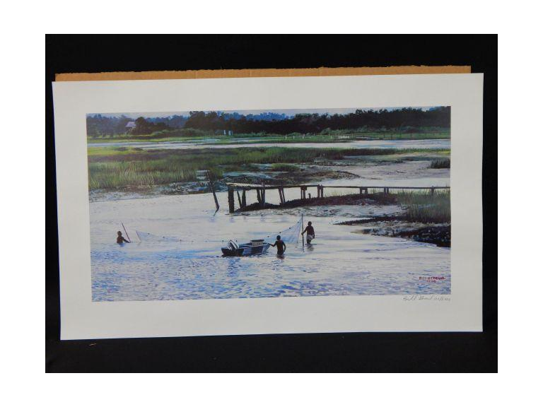 Bill Stroud Signed and Numbered Fishing Prints