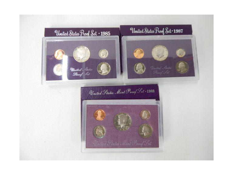 1980's Mint Coin Sets