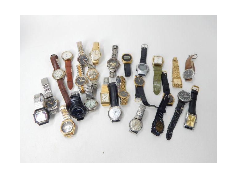 Collection of Men's Wristwatches