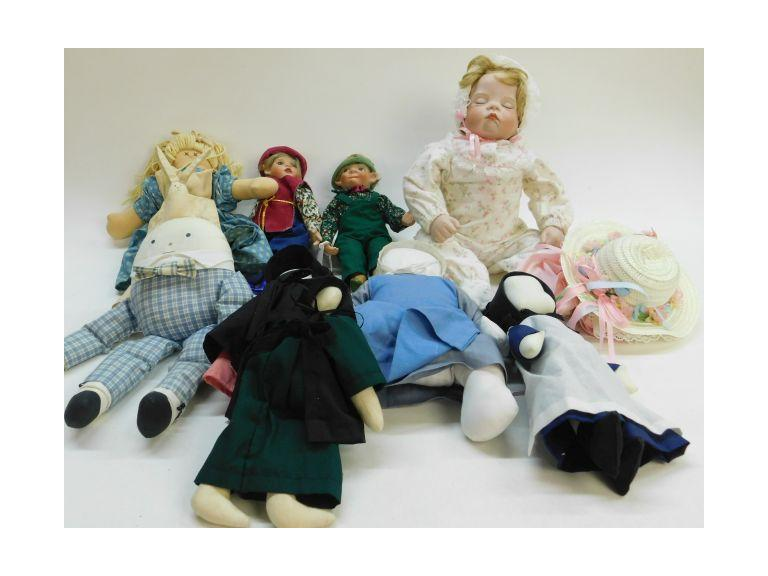 End of auction doll lot