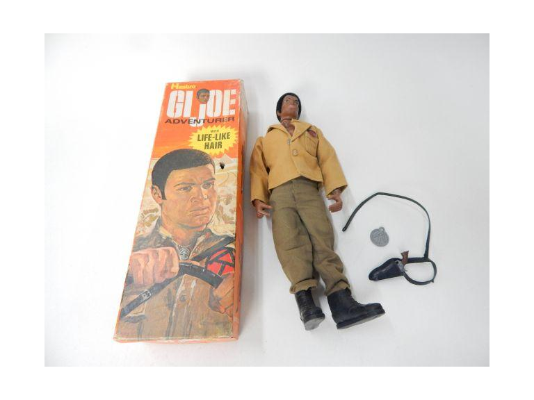 Vintage 1970 GI Joe Adventure Figure with Box