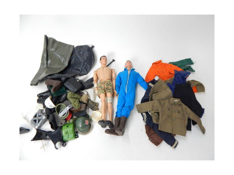 Vintage 1964 GI Joe Figures and accessories