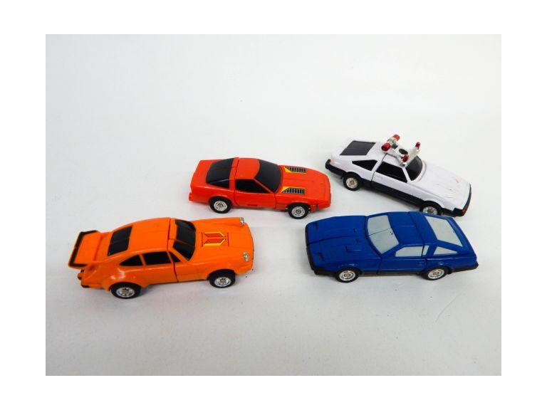 1980's Transformer Toy Cars