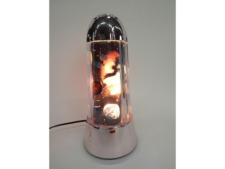 Space Scene Motion Lamp