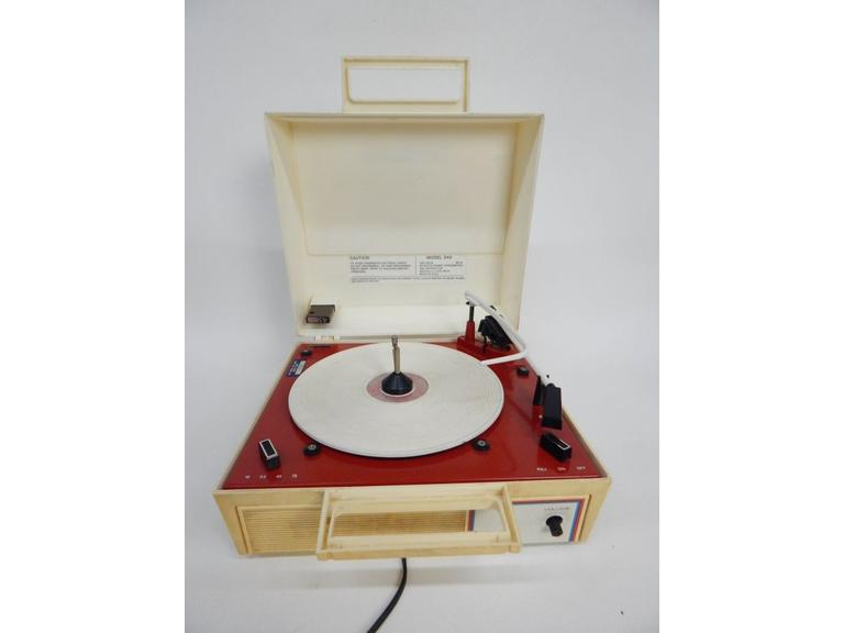 Vintage Fun-O-Graph Portable Record Player