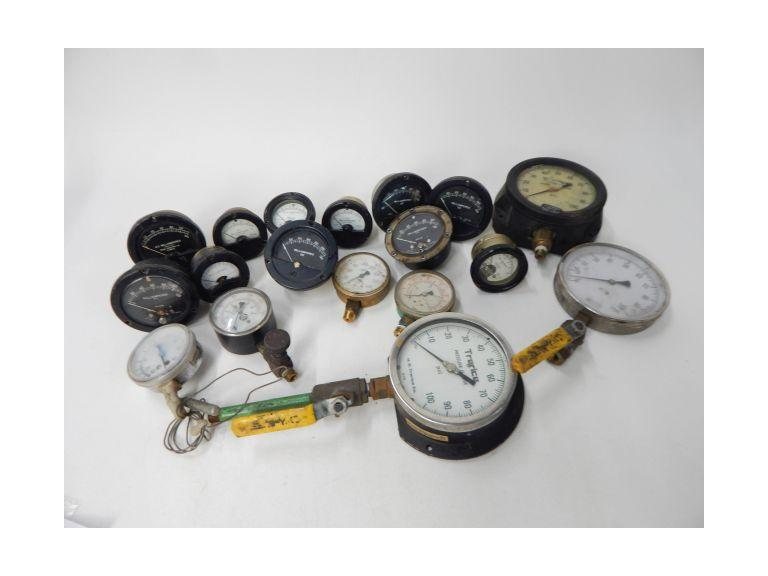 Large Collection of Old Gauges