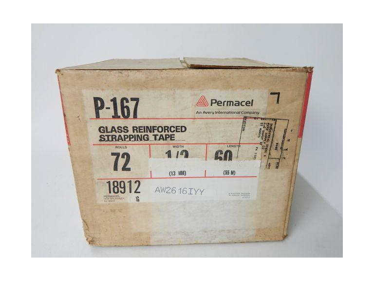 Case of 1/2'' Glass Reinforced Packing Tape