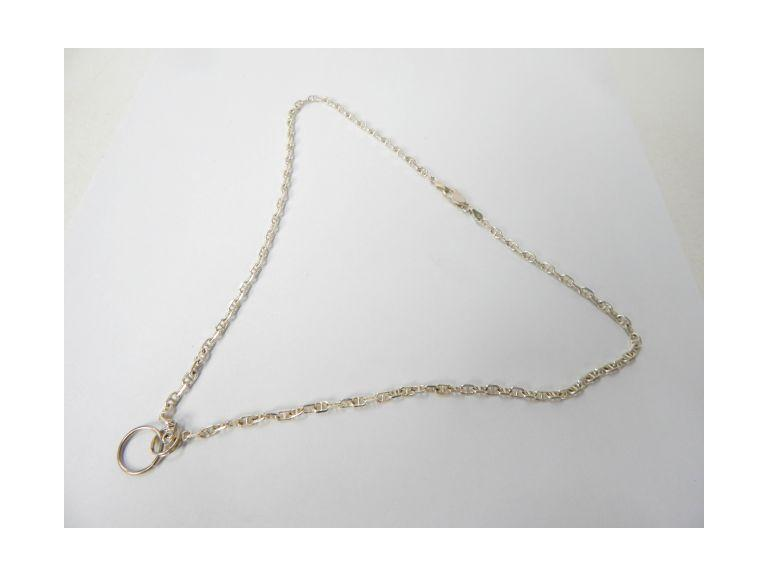 925 Italy Marked Sterling Necklace