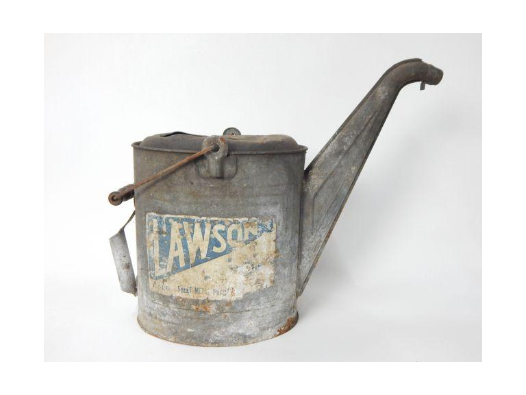 Old Lawson Industrial Oil Can