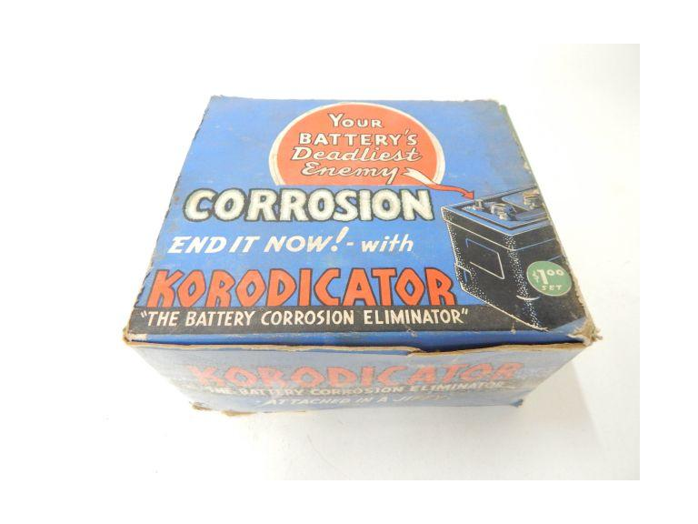 Vintage Automotive Battery Protector Advertising