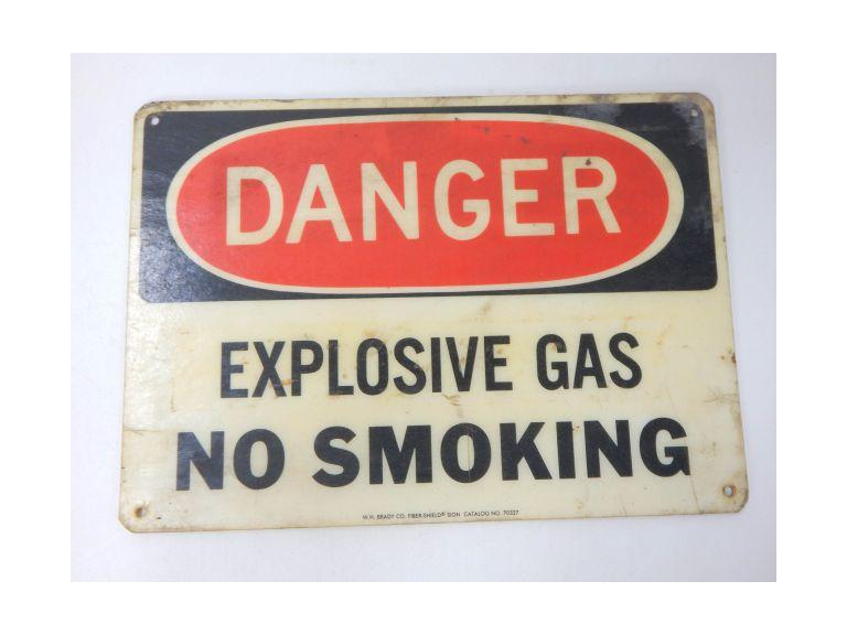 Industrial Danger Warehouse Sign